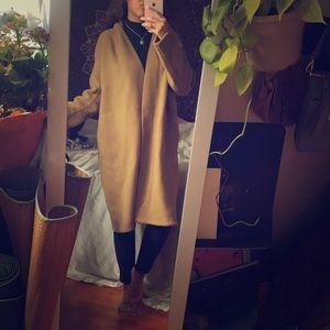 Vince wool/camel tench coat
